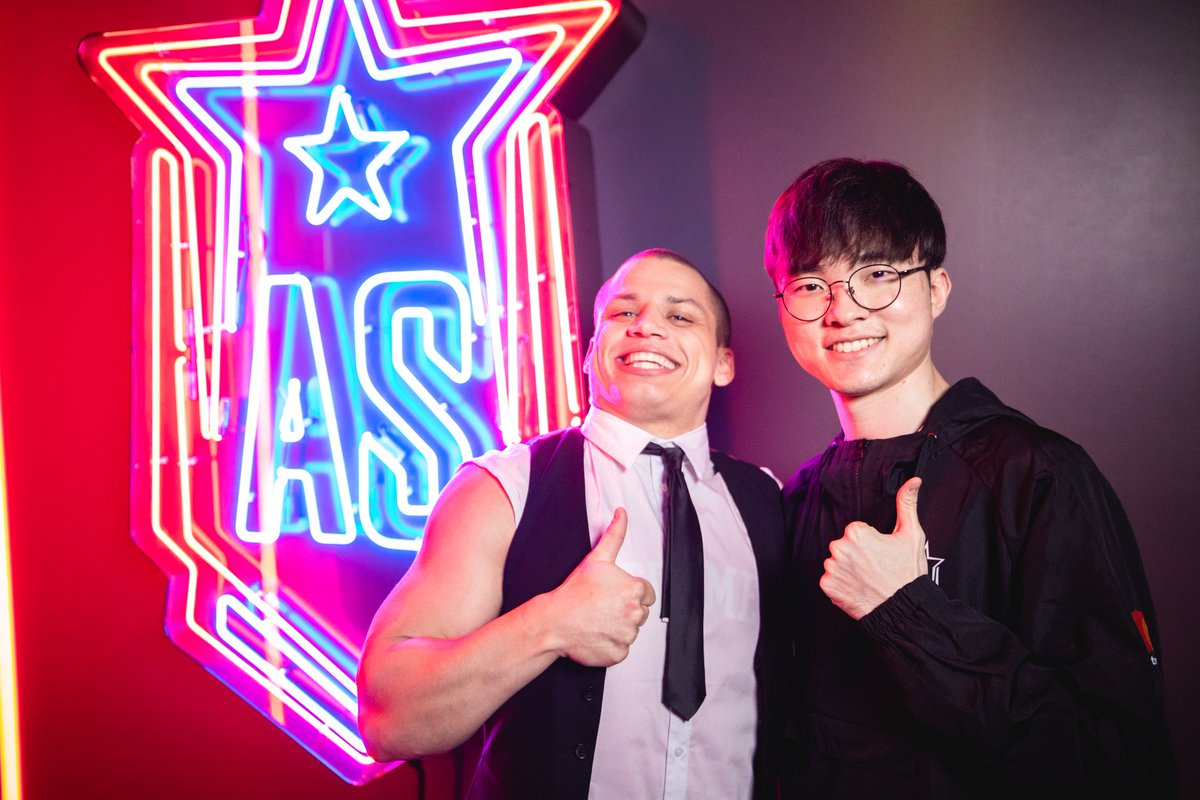 Tyler1 and the notorious faker.