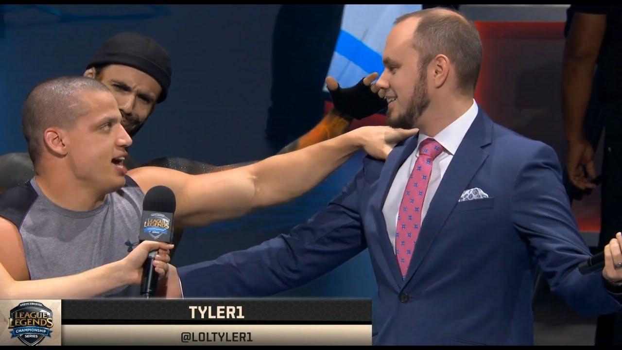 Tyler1 and phreak, old enemies, now friends.